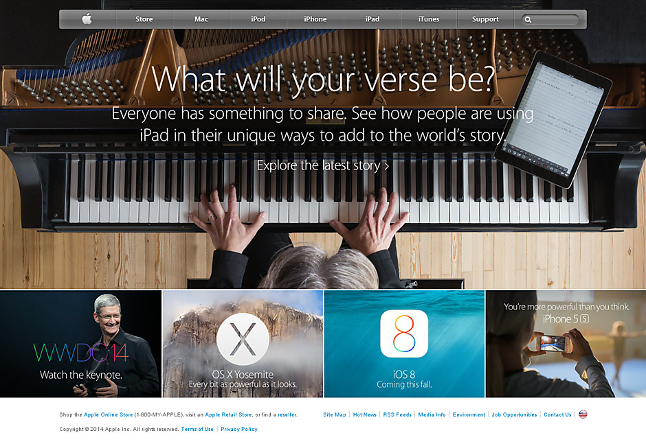 Apple's story appealing to musicians