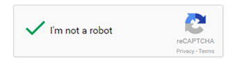Captchas make sure you're not a robot