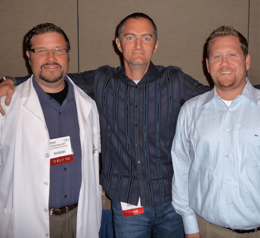 Brian Massey, Kent Lewis and Dylan Boyd at Innotech Portland