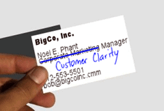 What would the title on your business card be if it reflected reality?