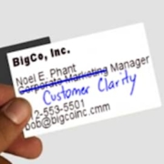 What would the title on your marketing business card be if it reflected reality?