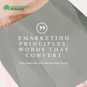 eMarketing principles: words that convert.
