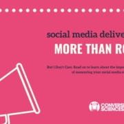What is your social media ROI? Can you measure the increase in traffic quality coming to your site from your social media actions?