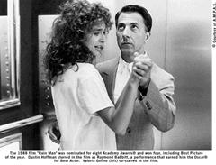Scene from the movie Rainman