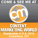 Book Signing at Content Marketing World Don't miss my presentation and book signing.