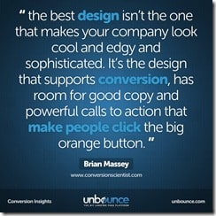 UNBOUNCE quote from facebook