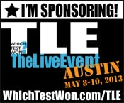 We're Sponsoring! Which Test Won: The Live Event