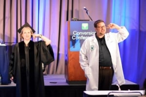 The Professor and The Conversion Scientist.