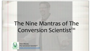 Title Slide - Nine CRO Mantras
