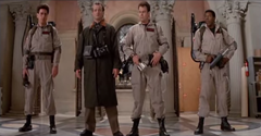 Four Ghostbusters