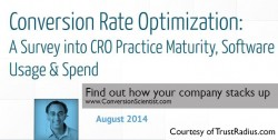 TrustRadius CRO Survey