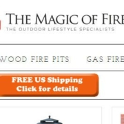 Magic of Fire free shipping offer.