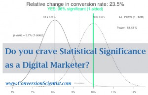 Statistically Significant Marketer