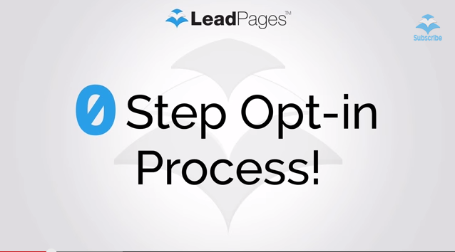 Leadpages Review: Step Opt-in Process