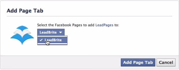 Leadpages Review: Integrates with Facebook