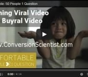 Turning viral video into buyer video