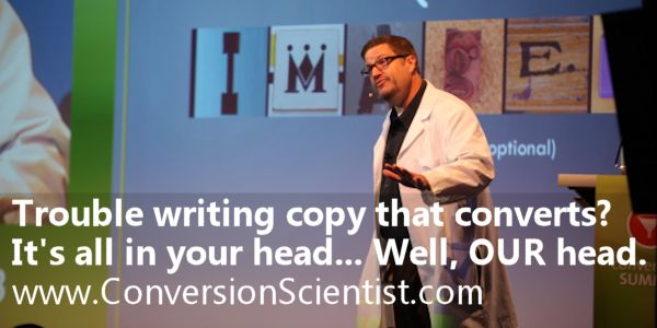 Brian Massey shows you how to write killer conversion copy and get past the bouncers in your brain.