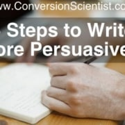 Five Steps to Write More Persuasively