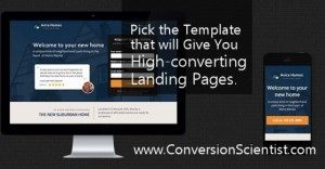 Pick the landing page templates that maximize conversions.