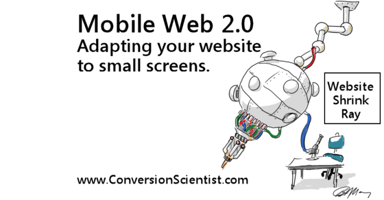 Mobile Web 2.0: Adapting your website to small screens.