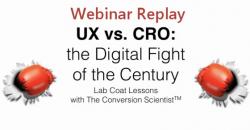 UX vs CRO Featured Image