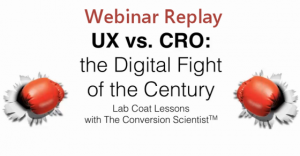 UX vs CRO Featured Image