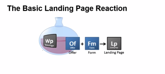 The Basic Landing Page Reaction