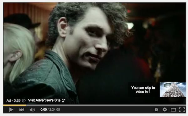 Heineken lead generation YouTube ad.