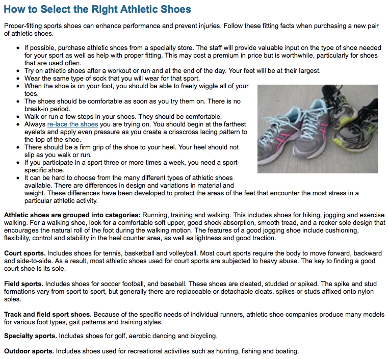 Running shoe buying guide