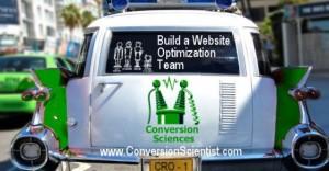 Build a Website Optimization Team