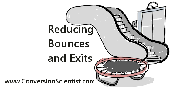 What are some strategies for reducing bounce rate?