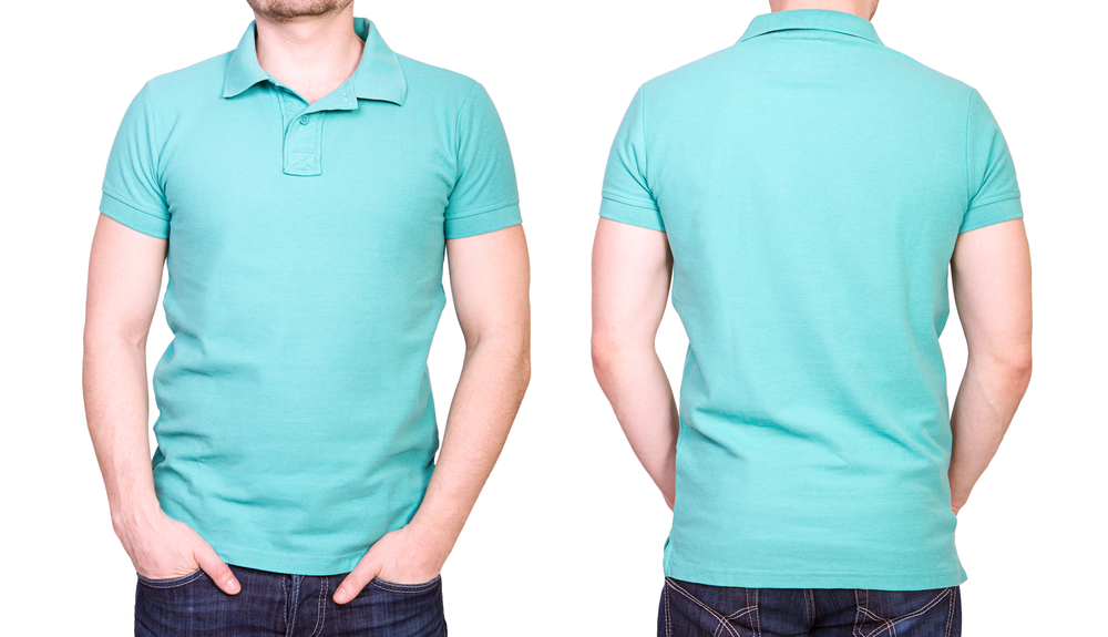 "Use the word ""cyan"" to describe the color of this shirt, not just ""blue"""