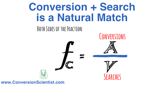 conversion plus search is a natural match feature image