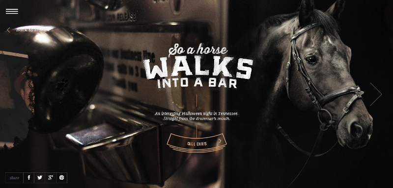 Bar Stories from Jack Daniel's shares real-life bar stories that are worth sharing