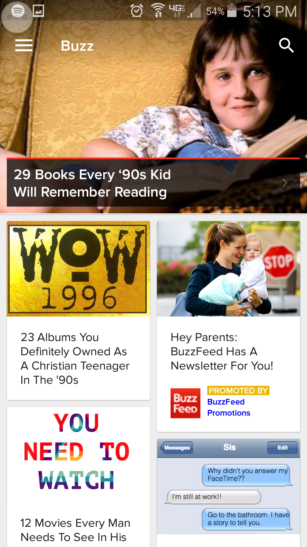 BuzzFeeds articles are easily digested with so many of them written in the form of a list.