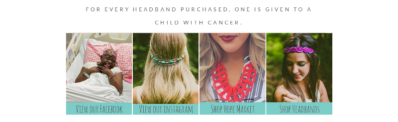 Headbands for Hope engages and gives back.