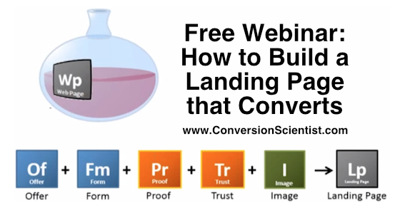 free webinar how to building a landing page that converts feature image