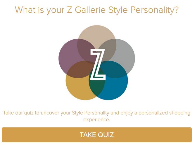 z gallerie style personality