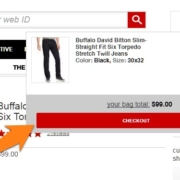 Great eCommerce Optimization Tips: Make Cart Contents Visible at all Times.