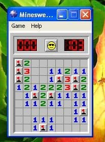 Minesweeper optimization strategies use clues from several tests to determine where additional revenue might be hiding.