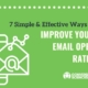 7 Surefire Ways to Improve Your Email Open Rates.
