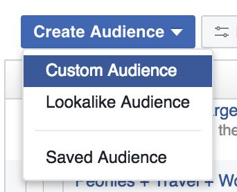 Facebook Ads Manager How to create lookalike Audiences.