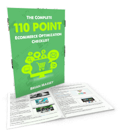 110 Point Ecommerce Optimizaiton Checklist Cover