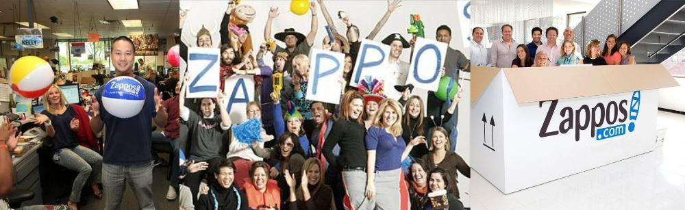 Zappos employees at work