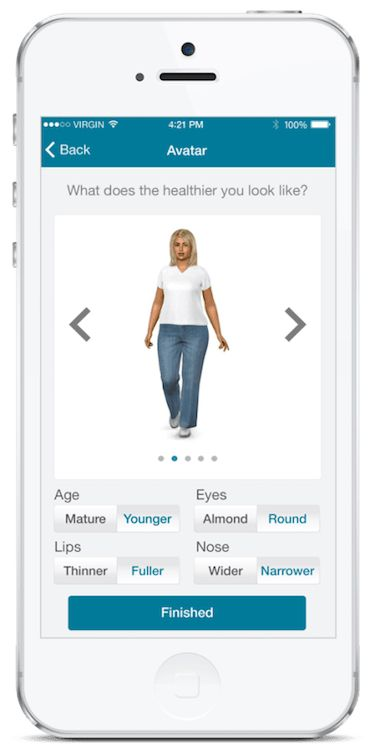 Avatars as personalization examples: Games that have successfully prompted behavioral changes in patients.