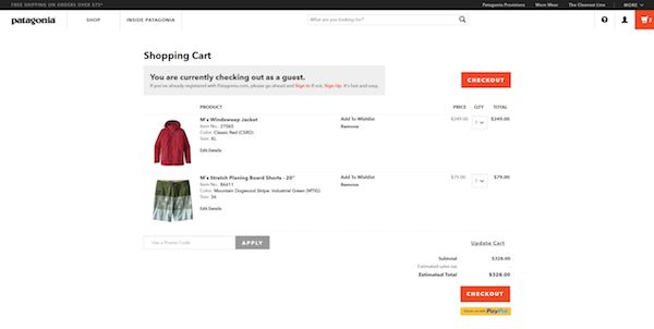 Shopping cart redesign checklist: choosing a visual design.