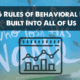 6 Rules of Behavioral Data Built into All of Us
