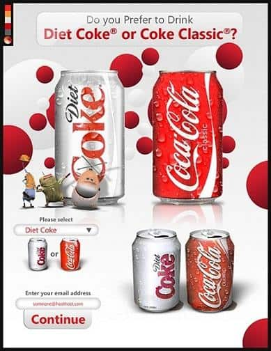 Coca Cola knows how to use color to impact buyers