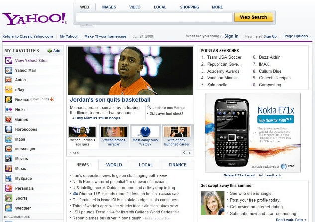 Blame Yahoo if you want