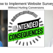 Implement Website Surveys Without Hurting Conversions